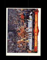 1985 ANDRE THE GIANT #67 WWF O-PEE-CHEE WRESTLERS VS FOOTBALL GREATS *G6370
