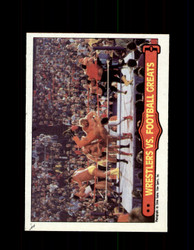1985 ANDRE THE GIANT #67 WWF O-PEE-CHEE WRESTLERS VS FOOTBALL GREATS *G3970