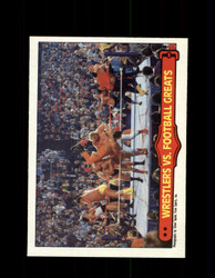 1985 ANDRE THE GIANT #67 WWF O-PEE-CHEE WRESTLERS VS FOOTBALL GREATS *G4024