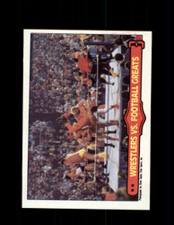 1985 ANDRE THE GIANT #67 WWF O-PEE-CHEE WRESTLERS VS FOOTBALL GREATS *G6394