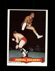1985  TONY ATLAS #49 WWF O-PEE-CHEE AERIAL ESCAPE *R4093