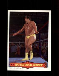 1985 ANDRE THE GIANT #73 WWF O-PEE-CHEE BATTLE ROYAL WINNER *G5239