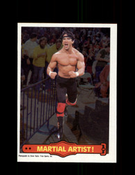 1985 RICKY THE DRAGON STEAMBOAT #16 WWF O-PEE-CHEE MARTIAL ARTIST *G5291