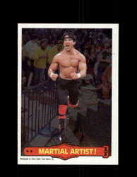 1985 RICKY THE DRAGON STEAMBOAT #16 WWF O-PEE-CHEE MARTIAL ARTIST *G5292