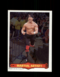 1985 RICKY THE DRAGON STEAMBOAT #16 WWF O-PEE-CHEE MARTIAL ARTIST *G5294
