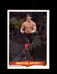 1985 RICKY THE DRAGON STEAMBOAT #16 WWF O-PEE-CHEE MARTIAL ARTIST *G5295