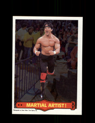 1985 RICKY THE DRAGON STEAMBOAT #16 WWF O-PEE-CHEE MARTIAL ARTIST *G5299