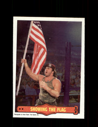 1985 CORPORAL KIRCHNER #13 WWF O-PEE-CHEE SHOWING THE FLAG *G5311