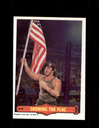 1985 CORPORAL KIRCHNER #13 WWF O-PEE-CHEE SHOWING THE FLAG *G5312