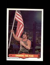 1985 CORPORAL KIRCHNER #13 WWF O-PEE-CHEE SHOWING THE FLAG *G5313
