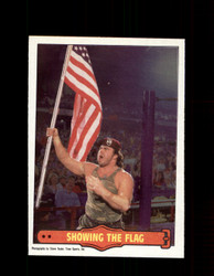 1985 CORPORAL KIRCHNER #13 WWF O-PEE-CHEE SHOWING THE FLAG *G5314