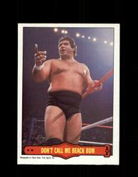 1985 MAGNIFICENT MURACO #17 WWF O-PEE-CHEE DON'T CALL ME BEACH BUM *G5320