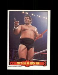 1985 MAGNIFICENT MURACO #17 WWF O-PEE-CHEE DON'T CALL ME BEACH BUM *G5321