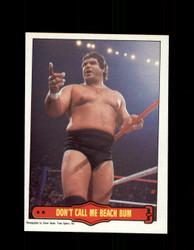 1985 MAGNIFICENT MURACO #17 WWF O-PEE-CHEE DON'T CALL ME BEACH BUM *G5322