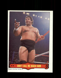 1985 MAGNIFICENT MURACO #17 WWF O-PEE-CHEE DON'T CALL ME BEACH BUM *G5325
