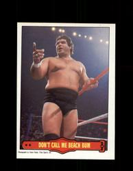 1985 MAGNIFICENT MURACO #17 WWF O-PEE-CHEE DON'T CALL ME BEACH BUM *G5326