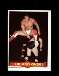 1985 RICKY THE DRAGON STEAMBOAT #18 WWF O-PEE-CHEE UP AND OVER *G5327