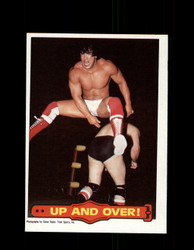 1985 RICKY THE DRAGON STEAMBOAT #18 WWF O-PEE-CHEE UP AND OVER *G5331