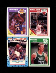 1989 FLEER BASKETBALL COMPLETE SET W/STICKERS *002