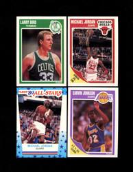 1989 FLEER BASKETBALL COMPLETE SET W/ STICKERS *005
