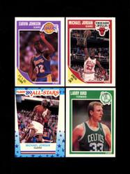 1989 FLEER BASKETBALL COMPLETE SET W/ STICKERS *008