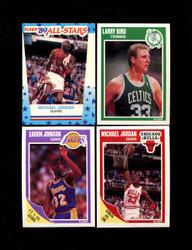 1989 FLEER BASKETBALL COMPLETE SET W/ STICKERS *014