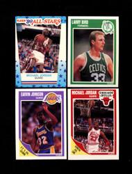 1989 FLEER BASKETBALL COMPLETE SET W/ STICKERS *015