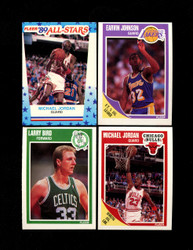 1989 FLEER BASKETBALL COMPLETE SET W/ STICKERS *016