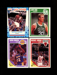 1989 FLEER BASKETBALL COMPLETE SET W/ STICKERS *017