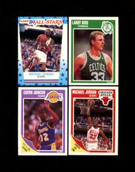 1989 FLEER BASKETBALL COMPLETE SET W/ STICKERS *022