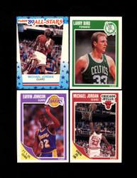 1989 FLEER BASKETBALL COMPLETE SET W/ STICKERS *024