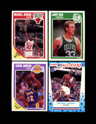 1989 FLEER BASKETBALL COMPLETE SET W/ STICKERS *026