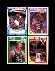 1989 FLEER BASKETBALL COMPLETE SET W/ STICKERS *028