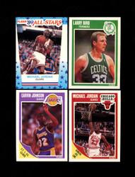 1989 FLEER BASKETBALL COMPLETE SET W/ STICKERS *032