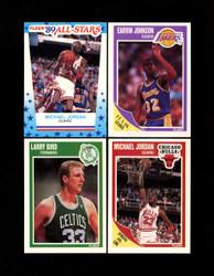 1989 FLEER BASKETBALL COMPLETE SET W/ STICKERS *034