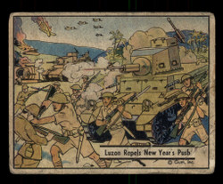 1941 WAR GUM #24 LUZON REPELS NEW YEAR'S PUSH *G4005