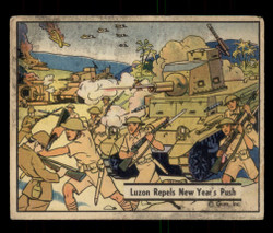 1941 WAR GUM #24 LUZON REPELS NEW YEAR'S PUSH *G4050