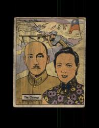 1941 WAR GUM #17 THE CHIANGS *G4698