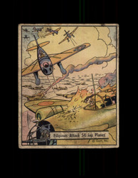 1941 WAR GUM #20 FILIPINOS ATTACK 54 JAP PLANES *R4331