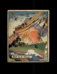 1941 WAR GUM #22 DUTCH SEA-AIR OFFENSIVE *R4370
