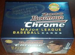 2000 BOWMAN CHROME BASEBALL DRAFT PICKS + PROSPECTS FACTORY SET