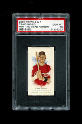 2006 CRAIG BIGGIO  ALLEN GINTER MINI NNO NO NUMBER PSA 10