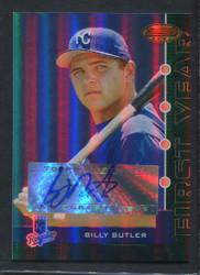 2005 BILLY BUTLER BOWMANS BEST #103 GREEN AUTO 341/399 #3211