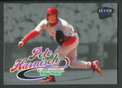 1999 PETE HARNISCH FLEER ULTRA #157P PLATINUM 38/99 UNI NUMBER #2492