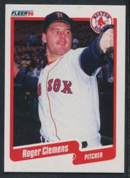 1990 ROGER CLEMENS FLEER CANADIAN #271 REDSOX #1689