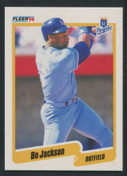 1990 BO JACKSON FLEER CANADIAN #110 ROYALS #1567
