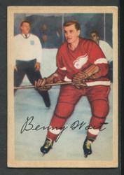 1953 BENNY WOIT PARKHURST #45 REDWINGS VG/EX #3413