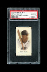 2006 ADRIAN BELTRE  ALLEN GINTER MINI NNO NO NUMBER PSA 10