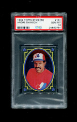 1984 ANDRE DAWSON TOPPS STICKERS #181 FOIL EXPOS PSA 10