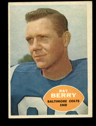 1960 RAYMOND BERRY TOPPS #4 COLTS EXMT #2062
